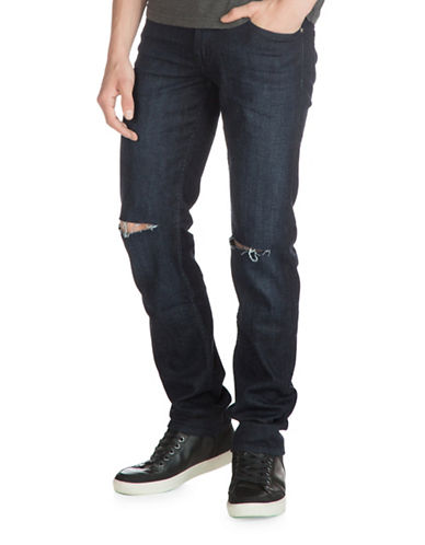 Guess Slim Straight Jeans-BLUE-33
