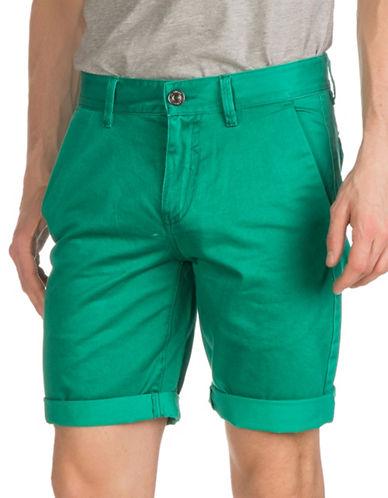 Guess Sateen Classic Shorts-GREEN-29
