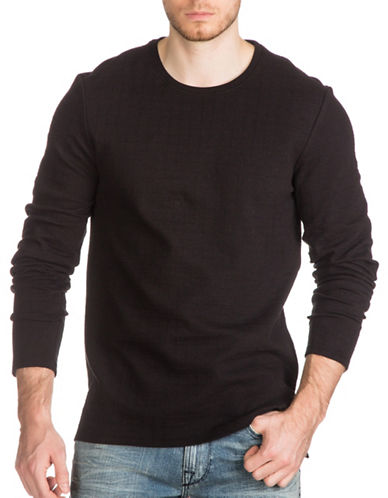 Guess Jet Jacquard Tee-BLACK-Medium 89009192_BLACK_Medium