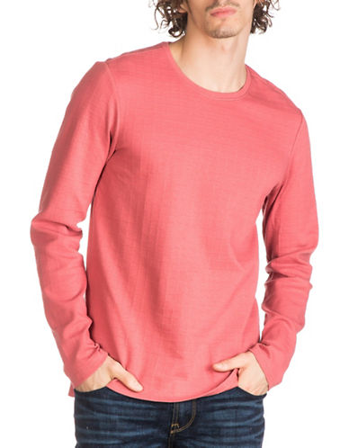 Guess Jet Jacquard Tee-PINK-Small 89009201_PINK_Small