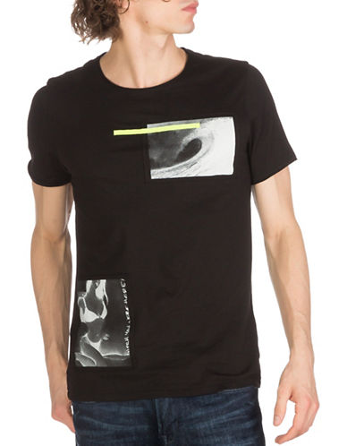 Guess Venice Nights Tee-BLACK-Medium 89082770_BLACK_Medium