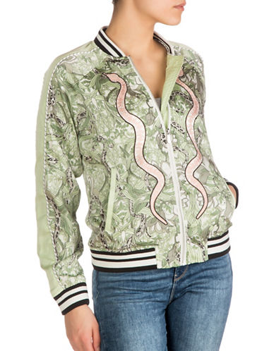 Guess Reese Bomber Jacket-MULTI-X-Small