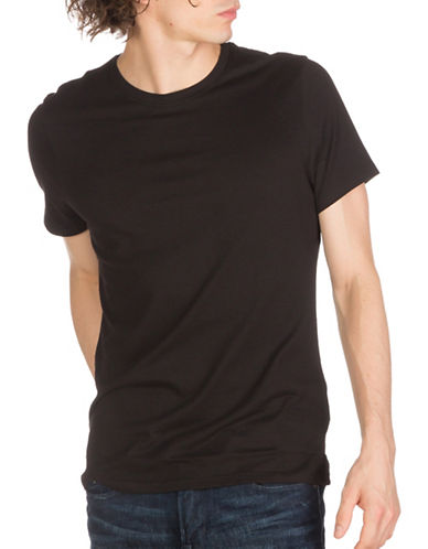 Guess Rex Jersey Crew Tee-BLACK-Small 89082846_BLACK_Small