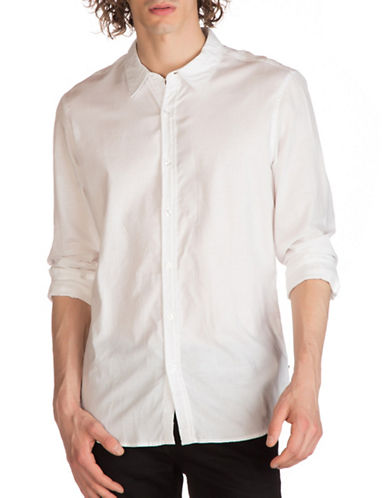 Guess Twll Shirt-WHITE-Medium