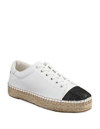 Kendall + Kylie Joslyn Espadrille Sneakers-WHITE-8.5