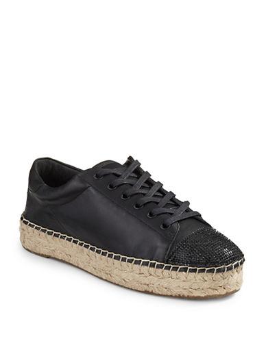 Kendall + Kylie Joslyn Espadrille Sneakers-BLACK-9