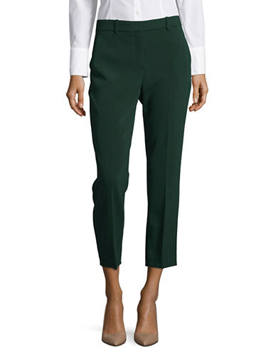 Theory Crepe Pants-GREEN-12