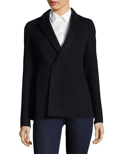 Theory Wrap Suit Jacket-BLUE-0
