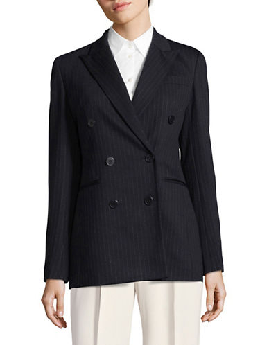 Theory Pinstripe Power Jacket-BLUE-8