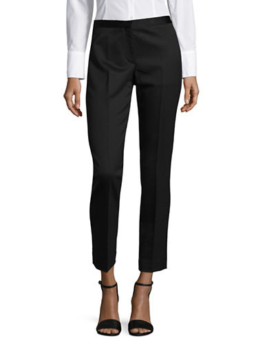 Theory Zip Tuxedo Pants-BLACK-0