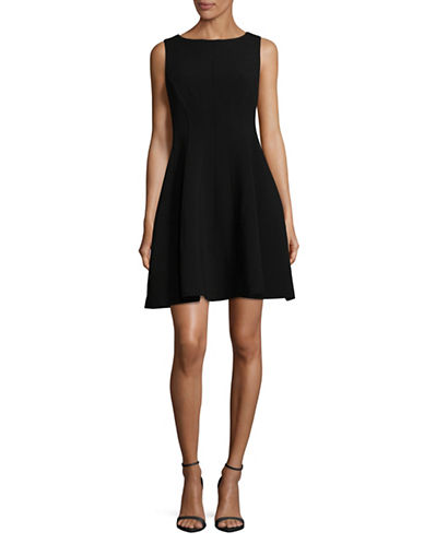 Theory Sleeveless A-Line Dress-BLACK-6
