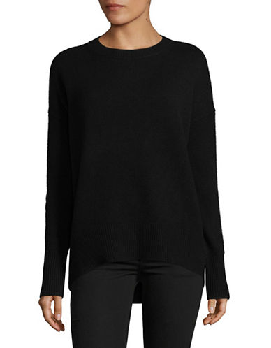 Theory Karenia Cashmere Sweater-BLACK-Medium