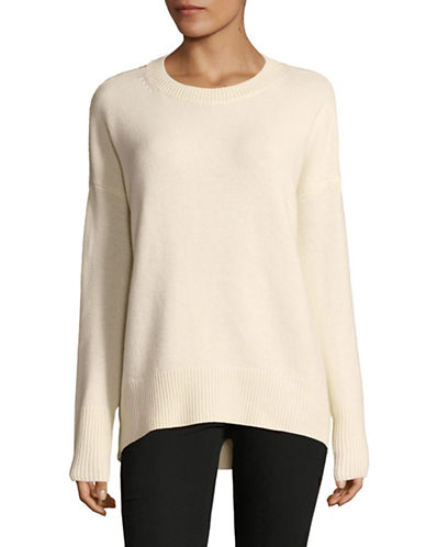 Theory Karenia Cashmere Sweater-IVORY-Small