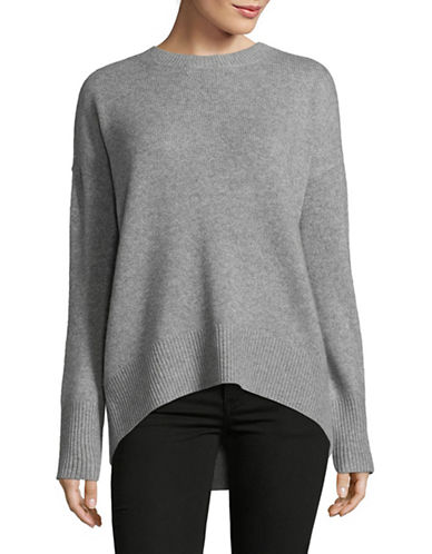 Theory Karenia Cashmere Sweater-GREY-Medium