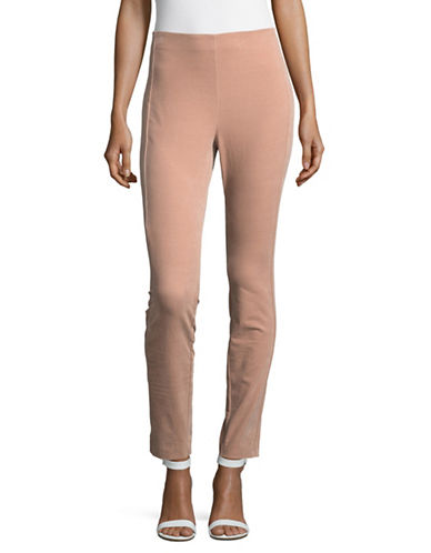 Theory Navalane Casual Pants-PINK-4