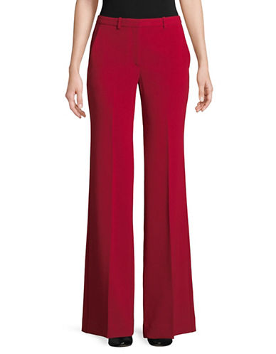 Theory Demitria Admiral Pants-RED-10