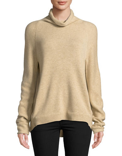 Theory Norman Cashmere Sweater-BROWN-Medium