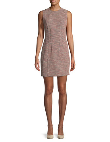 Theory Hourglass Mini Dress-MULTI-12