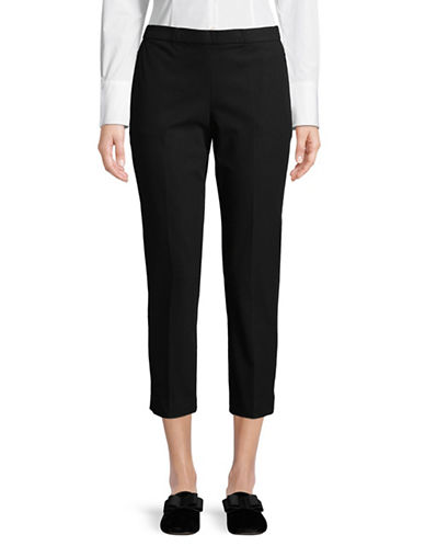 Theory Classic Pull-On Pants-BLACK-4
