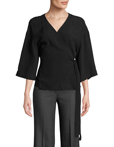 Theory Elevated Wrap Top-BLACK-Large 89998854_BLACK_Large