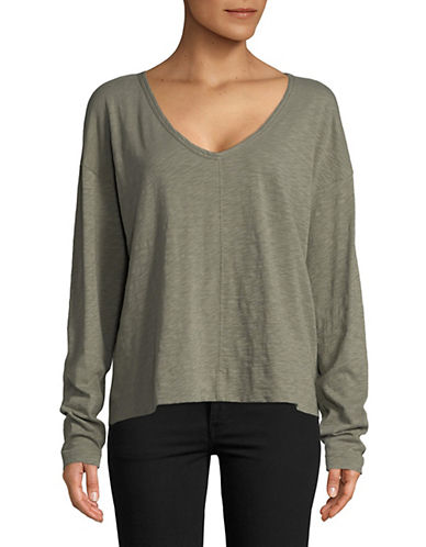 Theory Relaxed Drop-Shoulder Top 90069280