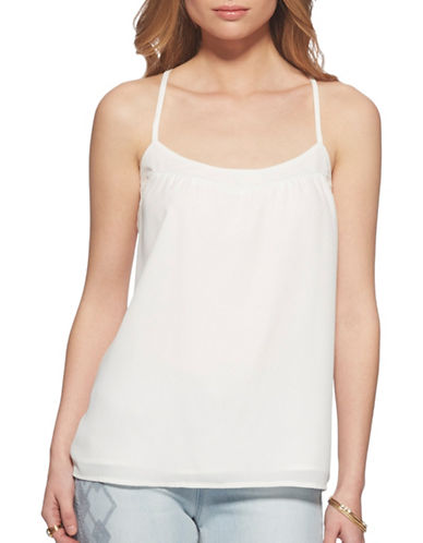 Jessica Simpson Minette Tank Top-CLOUD DANCER-Small
