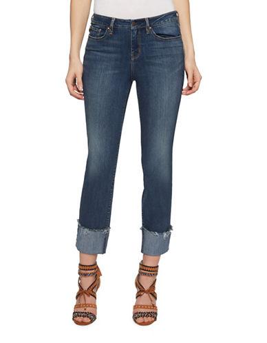 Jessica Simpson Arrow Straight Skinny Jeans-WRIGHT/WRIGHT-25