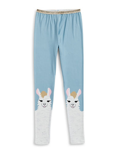 Jessica Simpson Llama Leggings-BLUE-Large 89287322_BLUE_Large