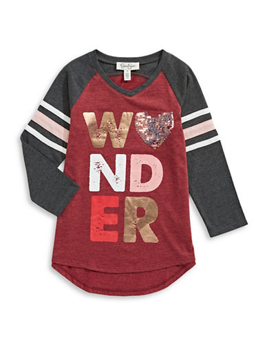 Jessica Simpson Neco Wonder Dress-RED-X-Large
