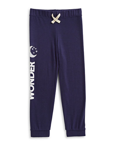 Jessica Simpson Wonder Jogging Pants-BLUE-X-Large