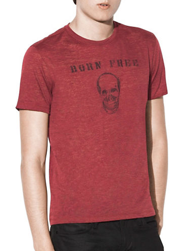 John Varvatos Star U.S.A. Born Free T-Shirt-RED-X-Large 88999793_RED_X-Large