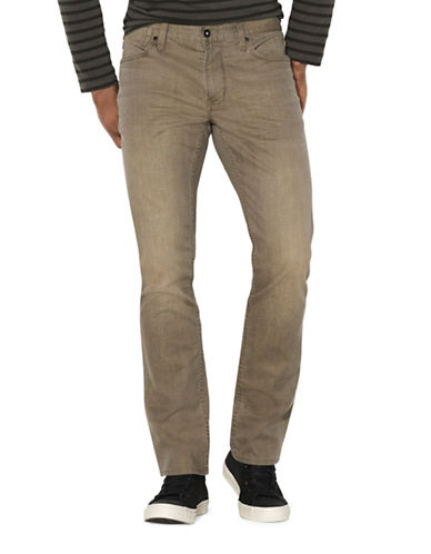 John Varvatos Star U.S.A. Bowery Fit Jeans-BROWN-38X32