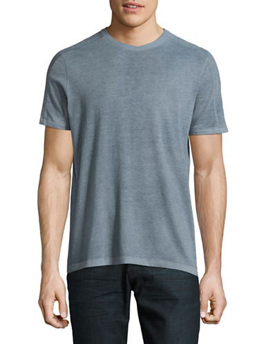 John Varvatos Star U.S.A. Reverse Sprayed T-Shirt-BLUE-Small