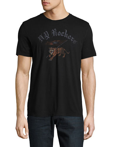 John Varvatos Star U.S.A. NY Rockers Graphic T-Shirt-BLACK-Medium