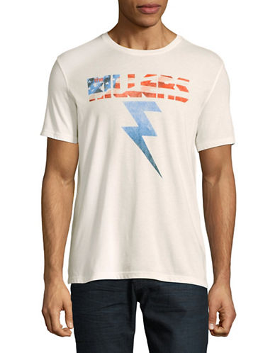 John Varvatos Star U.S.A. Killers Bolt Graphic Tee-WHITE-X-Large 89326036_WHITE_X-Large