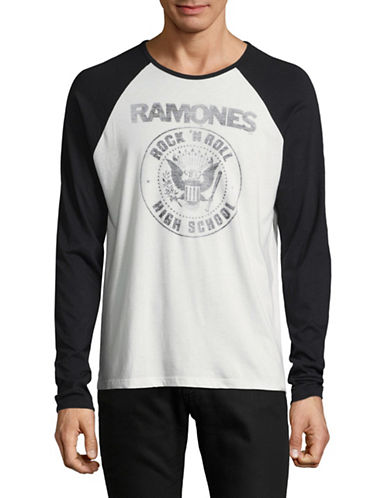 John Varvatos Star U.S.A. Ramones Graphic Tee-WHITE-Medium