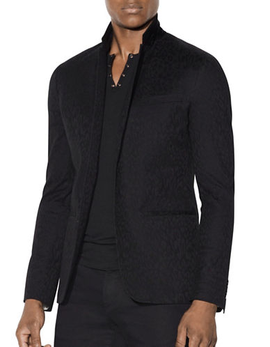 John Varvatos Star U.S.A. Thompson Soft Jacket-BLACK-36