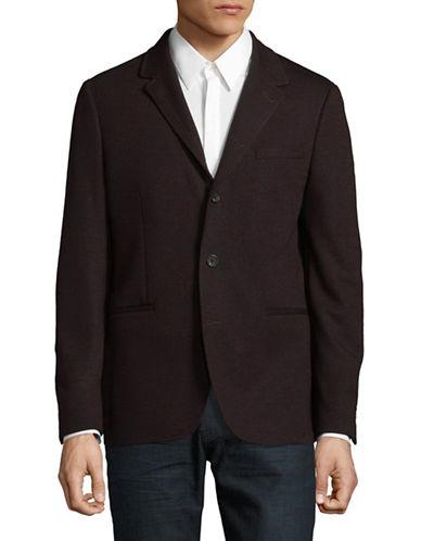 John Varvatos Star U.S.A. Thompson Soft Jacket-RED-40