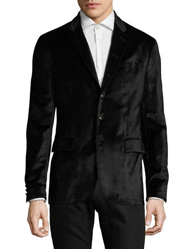 John Varvatos Star U.S.A. Thompson Suit Jacket-BLACK-38
