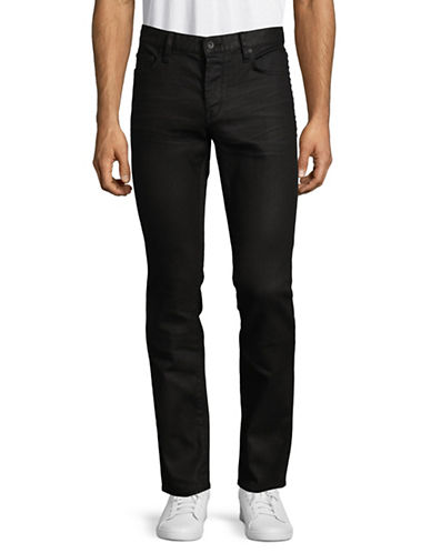 John Varvatos Star U.S.A. Dark Slim-Fit Jeans-BLACK-31X34