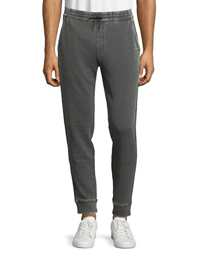 John Varvatos Star U.S.A. Classic Drawcord Pants-GREY-Small
