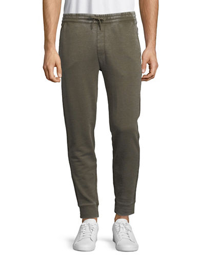 John Varvatos Star U.S.A. Classic Drawcord Pants-GREEN-Large