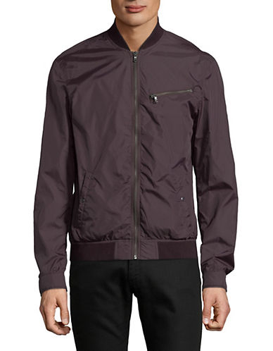John Varvatos Star U.S.A. Packable Bomber Jacket-RED-X-Large 90036627_RED_X-Large