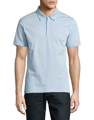 Highline Collective Solid Jersey Polo-SKY BLUE-Large