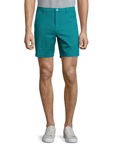 Highline Collective Stretch Twill Shorts-LIGHT BLUE-36