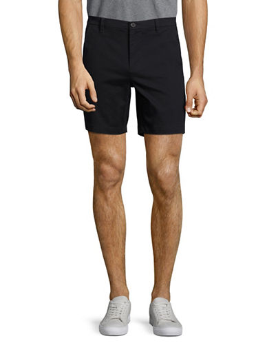 Highline Collective Stretch Twill Shorts-BLACK-38
