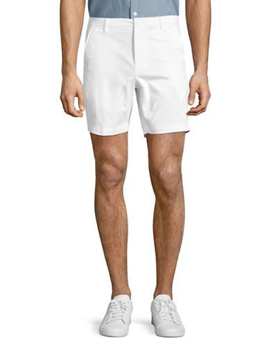 Highline Collective Stretch Twill Shorts-WHITE-38