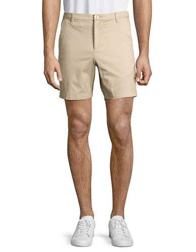 Highline Collective Stretch Twill Shorts-BEIGE-36