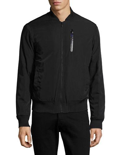 Highline Collective Nylon Bomber Jacket-BLACK-X-Large 89015997_BLACK_X-Large