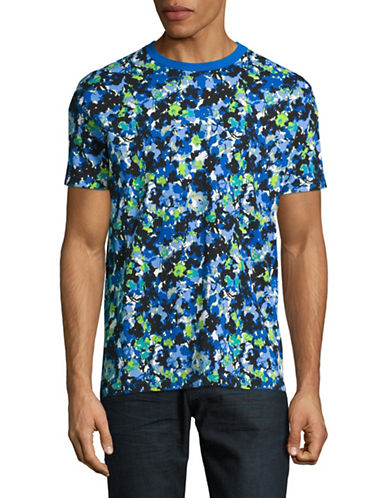 Highline Collective Floral Camo T-Shirt-MULTI-COLOURED-Large